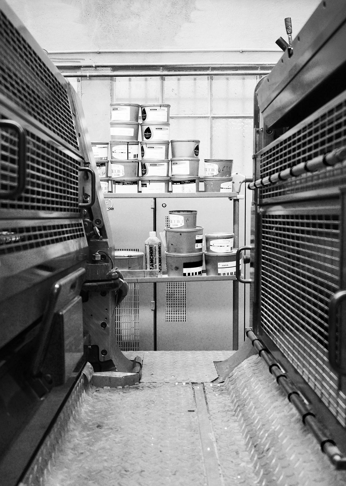 Imprimerie moutot - machine - imprimeur